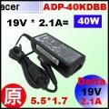 原廠【40W 變壓器】19V * 2.1A = 40W, 5.5/1.7mm 充電器