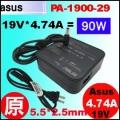 原廠 90W【方塊型 Asus 變壓器】Asus 19V * 4.74A  5.5/2.5mm 變壓器