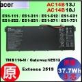 原廠 AC14B13J【 AC14B13J= 48Wh】Acer ES1-111 ES1-131 ES1-521 ES1-531 ES1-571 / TB116 電池【3芯】