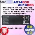 原廠 AC14B8K【 AC14B8K= 48Wh】Acer A517-51 A717-71 V3-111 V5-131  TMB115 / Chromebook 電池【3芯】