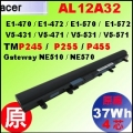 原廠 AL12A32【TMP245 = 37Wh】Acer TravelMate P245, P255, P455 電池【4芯】