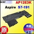 【原廠 AP12E3K= 28Wh】Acer Aspire ultrabook S7-191 電池【4芯】