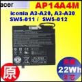 原廠 AP14A4M【A3-A30 = 22Wh】Acericonia A3-A30 / SW5-011 SW5-012 電池【2芯】