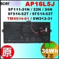 原廠 AP16L5J【 SF514-52T = 36Wh】AcerSF514-52t TMX514 電池【3芯】