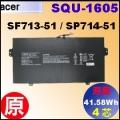 原廠 SQU-1605【 SF713-51= 41.58Wh】Acer SF713-51 SF714-51 電池【4芯】