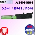原廠 A31N1601【 X541 = 36Wh】 Asus F541 R541 X541 電池【3芯】