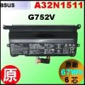 原廠 A32N1511【G752= 67Wh】 Asus ROG G752v 電池【6芯】