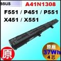 原廠【A41N1308 = 37Wh】 Asus F551 D550 X451 X551  電池【4芯】
