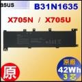 原廠 B31N1635【 X705 = 42Wh】 Asus X705N X705U 電池【3芯】