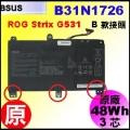 原廠 B31N1726【 G531 = 48Wh】 Asus ROG Strix G531GD G531GT G531GU 電池【3芯】