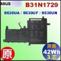 原廠 B31N1729【 S530 = 42Wh】 Asus VivobookS15 S530 電池【3芯】