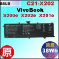 原廠 C21-X202【 S200e = 38Wh】 Asus Vivobook S200e X201e X202e 電池【2芯】
