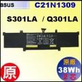 原廠 C21N1309【 S301LA = 38Wh】 Asus S301  Q301 電池【2芯】