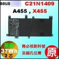 原廠 C21N1409【 A455  = 37Wh】 Asus A455 X455 電池【2芯】
