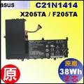 原廠 C21N1414【 X205TA = 38Wh】 Asus X205TA  F205TA 電池【2芯】