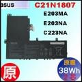 原廠 C21N1807【 E203NA = 38Wh】 Asus vivobook E203MA E203NA R203MA X207NAH 電池【2芯】