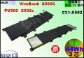 原廠 【C31-X502 = 44Wh】 Asus PU500C S500Ca X502C 電池【3芯】