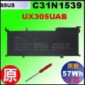 原廠 C31N1539【 UX305UAB  = 57Wh】 Asus UX305UAB-1D 電池【3芯】