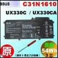 原廠 C31N1610【 UX330CA  = 54Wh】 Asus UX330CA 電池【3芯】