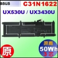 原廠 C31N1622【UX530UA = 50Wh】 Asus UX530U / UX3430U 電池【3芯】
