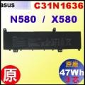 原廠 C31N1636【N580V = 47Wh】 Asus  Vivobook Pro15 N580 X580 電池【3芯】