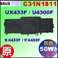 原廠 C31N1811【UX433UA = 50Wh】 Asus UX433F U4300F BX433F 電池【3芯】