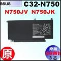 原廠 C32-N750【 N750 = 69Wh】 Asus N750JV N750JK 電池【3芯】