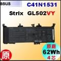 原廠 C41N1531【 GL502VY = 62Wh】 AsusROG Strix GL502VY 系列 電池【4芯】