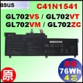 原廠 C41N1541【 GL702V = 76Wh】 AsusGL702VS GL702VT GL702VM 電池【4芯】