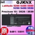 原廠 GJKNX【E5480 = 68Wh】Dell Latitude 5480 5490 5580 5590 電池【4芯】