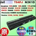 原廠 N3X1D【T54FJ=60Wh】Dell Latitude E5420 E5430 E6420 E6430 E6440 E6520 E6530 電池【6芯】