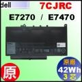 原廠 7CJRC【E7270= 42Wh】Dell Latitude E7270 E7470 電池【3芯】