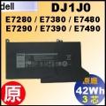 原廠 DJ1J0【E7280= 42Wh】Dell Latitude E7280 E7380 E7480 電池【3芯】