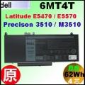 原廠 6MT4T【 Precision 3510 = 62Wh】Dell Precision 3510 M3510 workstation  電池【4芯】
