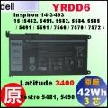 原廠 YRDD6【 YRDD6 = 42Wh】Dell inspiron14-3493 15-5585 Vostro5490 L3400 電池【3芯】
