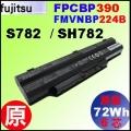 原廠 FPCBP390【 SH782 = 72Wh】Fujitsu LifeBook S782 SH782 電池