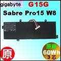 原廠 G15G【Sabre pro15 = 60Wh】gigabyte Sabre Pro 15 電池