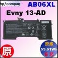 原廠 AB06XL【 Envy13-ad = 53.61Wh 】HP Envy13-ad 電池