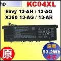 原廠 KC04XL【 Envy13-ah= 53.2Wh】HP Envy 13-AH 13-AQ 13-AG 13-AR 電池【4芯】