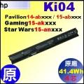 原廠 KI04【 KI04= 41.4Wh】HP Pavilion14-ab Pavilion15-ab Gaming15-ak 電池【4芯】