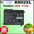 原廠 KN02XL【 Pavilion 11-ad = 37.2Wh 】HP Pavilion x360 11-ad 電池