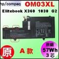 原廠 OM03XL【 Elitebook 1030G2 = 50Wh 】HP elitebook X360 1030G2 電池