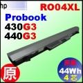 原廠 RO04 【Probook 430G3 = 44Wh 】HP Probook 430G3, 440G3 電池