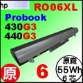 原廠 RO06 【Probook 430G3 = 4965mAh 】HP Probook 430G3, 440G3 電池