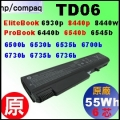 原廠 TD06【 6535b = 47 or 55Wh】HP Compaq Business Notebook 6530b 6535b 6700b 6730b 6735b 電池