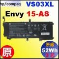 原廠 VS03XL【 Envy15-AS = 52Wh 】HP Envy 15-AS000 電池