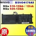 原廠 BSNO417OA5【Miix 510 = 39Wh】Lenovo Miix510-12  Miix520-12 電池