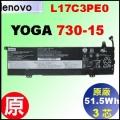 原廠 L17C3PE0【Yoga730-15 = 51.5Wh】Lenovo yoga730-15 電池