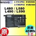 原廠 L480 01AV466【 L480 = 45Wh】Lenovo L480 L485 L490 L580 L590 電池