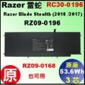 原廠 RC30-0196【 RZ30-0196 = 53.6Wh】Razer 雷蛇 RZ30-0196  電池【3芯】